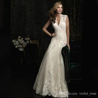 Wholesale Xxs Backless Dress - 321# wedding gown woman wedding dress lace v-neck Evening dress Trailing wedding dress XXS 2,XS 4,S 6,M 8,L 10,XL 12,XXL 14,3XL 16