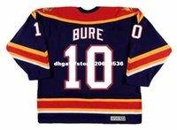 Personalizzato Throwback Mens PAVEL BURE Florida Panthers 1999 CCM Vintage Throwback Cheap Retro Hockey Jersey