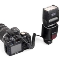 Wholesale Flash Camera Sync Cord - 3M TTL Off-Camera Flash 2-HotShoe Sync Extension Cable Cord for Canon Speedlite cord plug cable pp