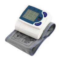 Wholesale Blood Pressure Machine Wholesale - Digital Wrist Blood Pressure Monitor Heart Beat Meter Machine LCD Screen Home Necessity Hot