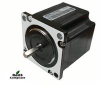 Wholesale Nema Stepper - New Leadshine 57HS09 Motor can output 0.9 N.m (184 Oz-In) torque2 Phase NEMA 23  2.8AStepper Motor CNC parts Motor