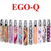 Wholesale Ego Patterned Battery - Ego Battery ego Q Cigarette Battery exquisite ego battery 1100 luxury various styles fashion pattern e cig factory supply