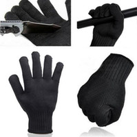 Wholesale Anti Slash - Wholesale-Stainless Steel Wire Safety Works Anti-Slash Stab Resistance Cut Proof Gloves