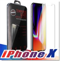 Wholesale iphone 7 - For Iphone X plus J7 LG Stylo Screen Protector Film Tempered Glass For Samsung S6 S7 EP Premium quality Retailbox PACK