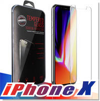 Wholesale Wholesale For Iphone Screen - For Iphone X 8 7 7 plus 6 J7 2017 LG Stylo 3 Screen Protector Film Tempered Glass For Samsung S6 S7 EP Premium quality Retailbox 1 PACK