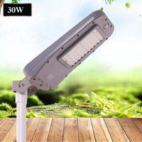china iluminação led direta venda por atacado-LED Solar Luzes Da Rua 60 W 40 W 20 W 30 W 85-100LM All-in-One Lâmpadas À Prova D 'Água Ao Ar Livre ABS PIR Sensor de Movimento Direto Shenzhen China Fábrica