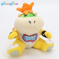 "Wholesale mario brothers games - Super Mario bros plush toys 7"" 18cm Koopa Bowser dragon plush doll Brothers Bowser JR soft Plush"