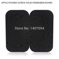 Wholesale Tea Board - Apple IPHONE5 Record Locator Screw Holes Memory Board Distribution Service Phone Disassemble Tool order<$18no track