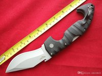 Wholesale aus steel knives for sale - Group buy Cold Steel pocket knife S Spartan knife AUS blade camping knives FRN handle folding hunting survival knife tool B670L