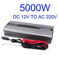 Wholesale Sine Wave Inverter 5kw - TBE Modified Sine Wave 5000W DC 12V To AC 220V 5000W 5KW High Power Car Converter Inverter for Air-condition Refrigerator  Pump TBE-5000W