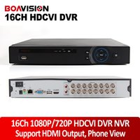 Wholesale Dvr Channels Dahua - Dahua Solution 16CH HDCVI DVR HD-CVI CVR Support 2*HDD(Up To 8TB) 16 Channel 1080P  720P Recording For 1.0MP 2.0MP HD CVI Camera Phone View