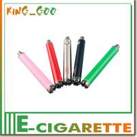Wholesale Ego Variable V V2 - Evod Twist II VV battery1300mah  1600mAh 3.5V~5V Evod vv Battery, ego v v2 mega variable voltage battery 0204118