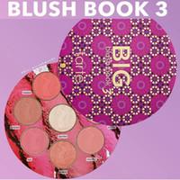 Wholesale Books Oils - Makeup Tarte BIG Blush BOOK 3 Tarte blush palette 8 colors Blushes & Highlighter Limited Edition DHL Shipping