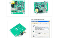 8 spdif internal - CM6631A USB to SPDIF Coaxial Optical bit kHz Sound Card DAC Board