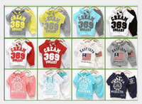 Wholesale Wholesale Jackets Low Price - Wholesale 36 sets lot 12 Designs Boys Tracksuits Summer Lowest Price Children's Hooded Jacket+Shorts Sets 2-4years Free Shipping