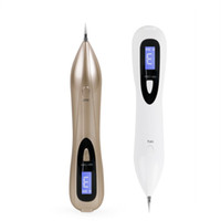 Wholesale Lcd Remover - NEW LCD Skin Care Point Pen Mole Removal Dark Spot Remover Pen Skin Wart Tag Tattoo Removal Tool Laser Plasma Pen Beauty Care