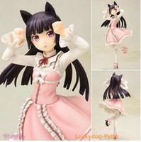 Wholesale Kuroneko Figure - Oreimo Action Figure Kuroneko sweet lolita Black Cat Red Gokou Ruri Anime Toys Brinquedos