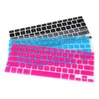 teclado de maçã 13 venda por atacado-Teclado de silicone pele da tampa para a apple para macbook pro mac 13
