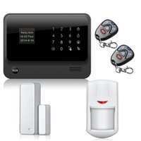 Wholesale Door Alarm Ip - Work with IP cams smoke detector wifi GPRS alarm system + Two way wifi gsm alarm system APP