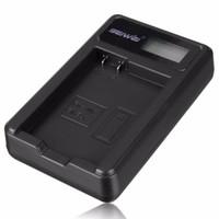 Wholesale En El14 Battery Pack - USB Digital Camera Li-ion Battery Pack Charger for Nikon EN-EL14 D3100 D3200 P7000 P7100 P7700 D5100 D5200 P7800 With LED display