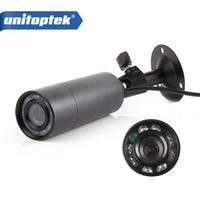 Wholesale effio e - Mini Outdoor Invisible 8 IR 940nm 0 lux Nightvision Sony Effio-E 700TVL Mini Bullet CCTV Camera For 960H D1 DVR