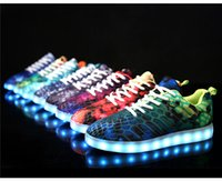 Led Luminous Shoes for sale - 2017 Newest LED luminous Casual running shoes for Unisex Autumn and Winter Fashion Couple shoes for Christmas gift