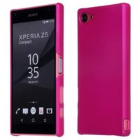 Wholesale frost plastic skin - For Sony Xperia Z5 Compact Luxury Hard Back Ultra thin Slim Frosted Matte Cover Skin Case for Sony Xperia Z5 mini Matte Case