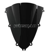 yamaha yzf r1 98 99 UK - Motorcycle Double Bubble Windshield WindScreen For 1998-1999 Yamaha YZF 1000 R1 98 99 Black