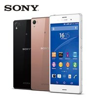 "Wholesale Gsm Phone Accessories - Sony Xperia Z3 D6603 Original Unlocked GSM 3G&4G Android Quad-Core 3GB RAM 5.2"" Screen 20.7MP Camera WIFI GPS 16GB Storage mobile phone"