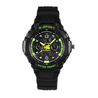 Men's sports feature - New Men Sports Watches Dual Movement Wrist Watch Digital LED Alarm Week Date Features Display Watches