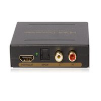 HDMI spdif hdmi audio - HDMI To HDMI SPDIF RCA L R Audio Extractor Converter TosLink New Version