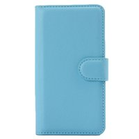 Wholesale Shockproof Case For 4g - S5Q Fashional Shockproof Flip Leather Wallet Case Cover For LG Leon 4G LTE H340N AAAFHR