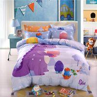 ingrosso cuscini per bambini-Simpatici set di biancheria da letto per bambini per bambina con 8 pezzi di copriletto trapuntato in puro cotone di alta qualità per bambino