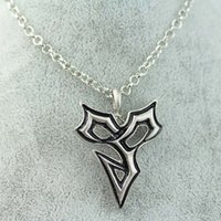 squall necklace - 2015 NEW FINAL FANTASY VIII SLEEPING LION Heart SQUALL GRIEVER PENDANT NECKLACE