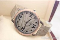 Wholesale Quality Wholesale Watches For Sale - 2015 Hot Sale Fashion Wooden Watch High Quality Wristwatches Quartz Movement Leather Wood Watch For Women men Free Shipping