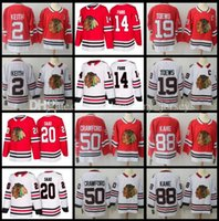 Wholesale Xl Hockey Jersey Chicago - 2018 Chicago New season Jersey Duncan Keith Jonathan Toews Corey Crawford Patrick Kane Brandon Saad Richard Panik Hockey Jerseys