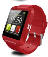 Wholesale Iphone 4s Call - Bluetooth Smartwatch U8 U Watch Smart Watch Wrist Watches for iPhone 4s 5 5S 6 6s Samsung S4 S5 Note5 Note 7 Android Phone Smartpho OTH014