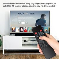 T6 Air Mouse Com Backlit 2.4G Teclado sem fio IR Learning Remote Control para SmartTV Android TV Box mini PC HTPC Projector