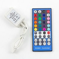 RGBW Controlador DC 12V-24V 40Keys IR Remote para SMD 5050 300leds RGBW RGBWW LED Strip Lights