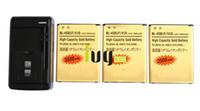 ersatz für lithium-ionen-batterien großhandel-3 stücke 3500 mAh BL-45B1F Gold Ersatz Lithium-ionen-akku + Universal USB Ladegerät für LG V10 H968 H961 BAK-110