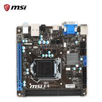 Wholesale Mini Itx I7 - Msi H81I Original Used Desktop Motherboard H81 Socket LGA 1150 i3 i5 i7 DDR3 16G SATA3 USB3.0 Mini-ITX