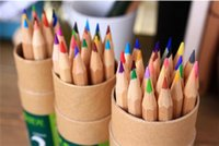 Wholesale 24 36 Painting - Secret Garden coloring pencils Enchanted Forest Painting pens Colored pencils Creative Writing tools 12&18&24&36 colors colouring pencils