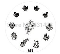 Wholesale Manicure Beauty Care Images - Wholesale-2015 new A Series A35 Nail Art Polish DIY Stamping Plates Image Templates Nail Stamp Stencil Manicure Care Beauty Designs Tools