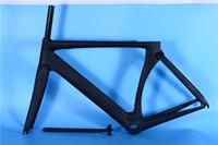 Wholesale carbon road bike 51cm - 2015 Newest S5 700C Road bike UD full carbon fibre bicycle frames with handlebar stem fork seatpost headsets BBright Free ship