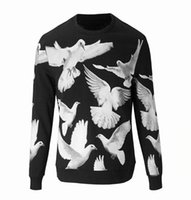 Flying Pigeon Brand Man Aumentare Rong Weiyi Full Cotton Maglione Europeo Ispessimento Giù In T Pity Marca Autunno E Inverno Men's Wear