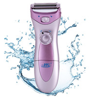 Wholesale Electric Trimmer For Ladies Hair - 2015 Newest Excellent Quality Washable Cordless Wet & Dry Lady Shaver Body Hair Remover Trimmer Bikini Line Good For Women
