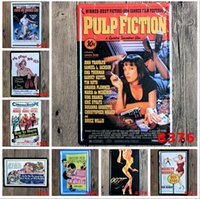 Wholesale Movie Tin Signs Wholesale - 2015 fashion 20*30cm classic movie&stars poster tin sign Coffee Shop Bar Restaurant Wall Art decoration Bar Metal Paintings