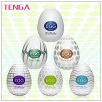 Wholesale Masturbatory Egg - Wholesale-Wholesale six types TENGA EGG,Male Masturbator,Silicone Pussy,Man Masturbatory Cup,Sex Toys for men Adult Products