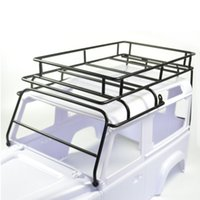 Wholesale Rc Crawler Parts - 1 10 RC Defender D90 Roof Rack Rock Crawler Luggage Tray Set 1pcs