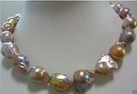 Wholesale South Sea Pearls Baroque - huge Color AAA 15-25mm south sea baroque pearl necklace 18 INCH